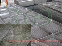 DM02 Knitted mesh,demister pads knit mesh-general mesh