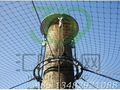SW17 aviary mesh,stainless steel cable mesh, bird netting,balustrade fencing