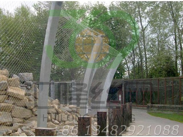 SW17 aviary mesh,stainless steel cable mesh, bird netting,balustrade fencing 2