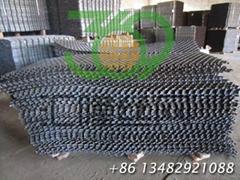 G16 410s Hexsteel, 750°C temp resistance, hexagonal grid