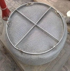 Demister Filter/gas-liquid knitted filter demister mesh