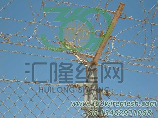 Galvanized Chain Link Fence 2