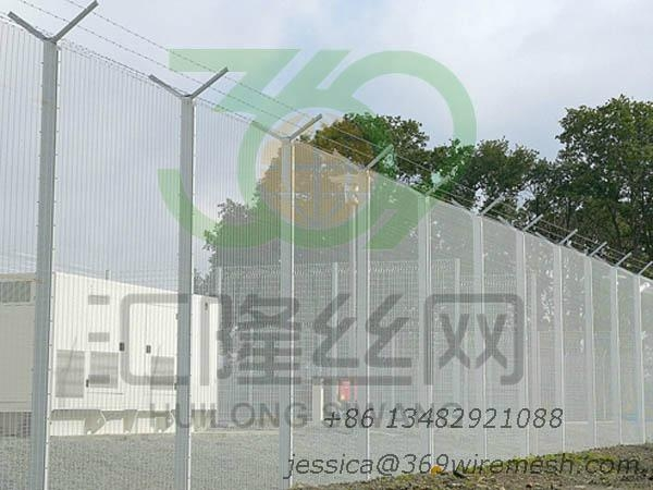 358 prison security fence