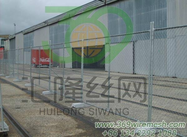 Chain Wire Temporary Fence 4