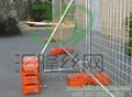 Temporary Fence Stay And Handrail