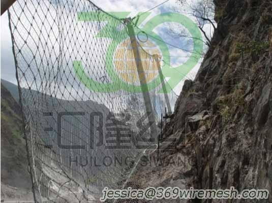 Rockfall Protection Screen,Rock Traps,Catch Fences 1