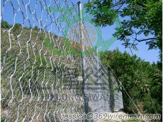 Rockfall Protection Screen,Rock Traps,Catch Fences 2