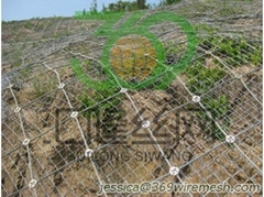 SNS Active protection system, Erosion Control Fence Guard