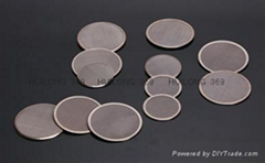 stainless steel wire mesh filter disk/disc