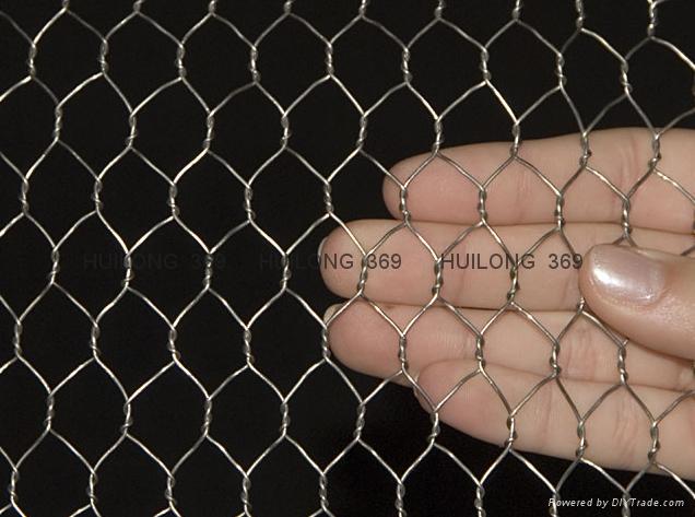 Manufacture hexagonal wire mesh 6