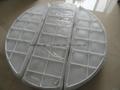 customed Plastic Demister pad