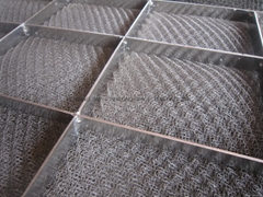Customized stainless steel demister pad