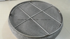 stainless steel knitting wire mesh demister pad
