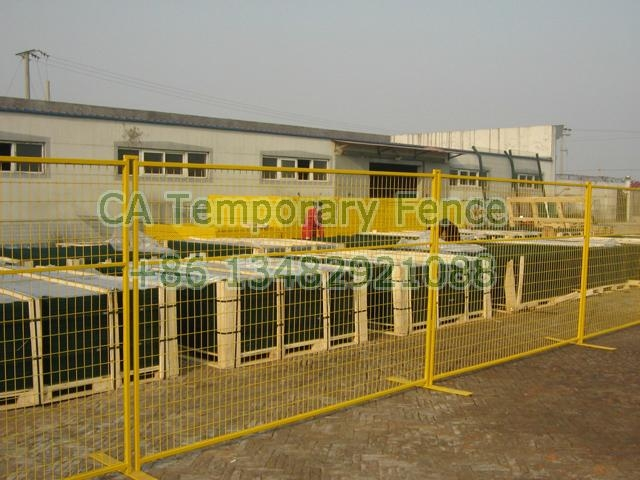 CA temporary fencing HW-17