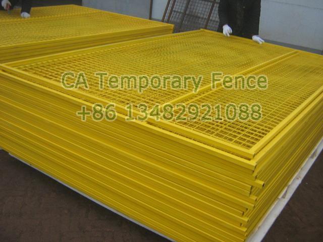 CA temporary fencing HW-17 2