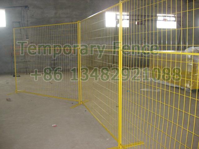 CA temporary fencing HW-17 4