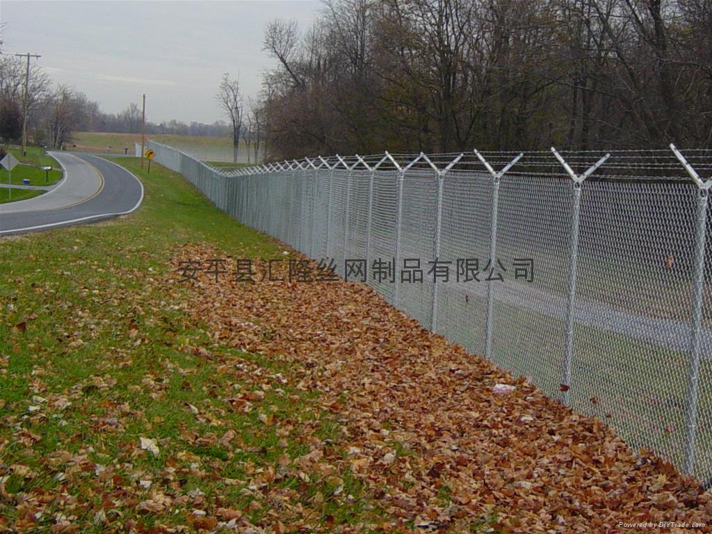 勾花网式道路隔离网  BW-01 2