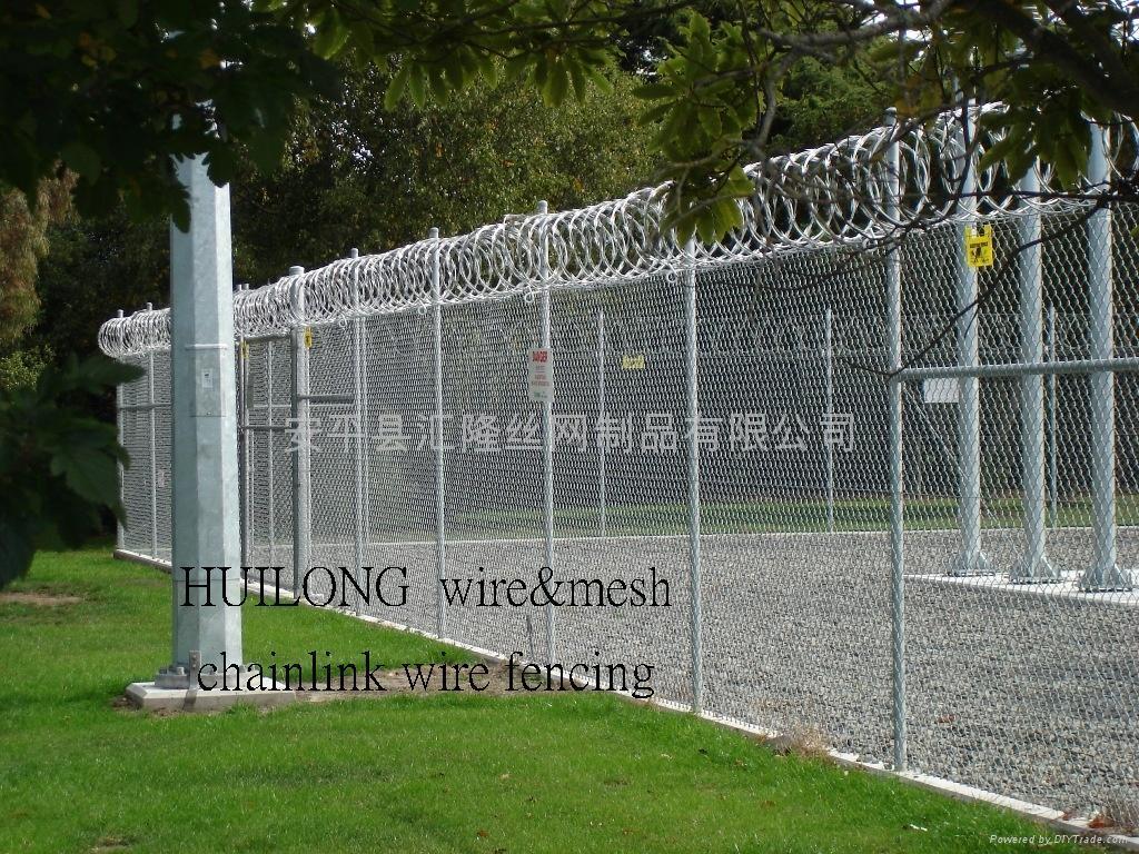 Alert area fencing cw huilong china manufacturer