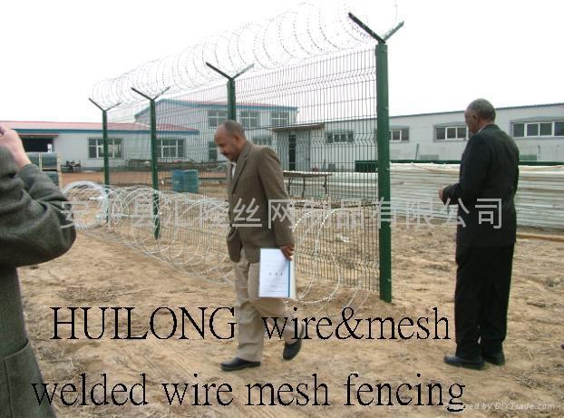High  Security Fencing   CW-04 1