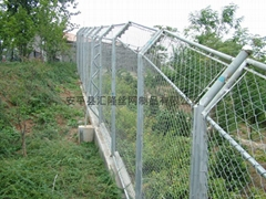 Security fencing for zoo BW-07