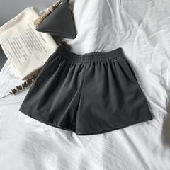 復合金絲絨時尚單褲