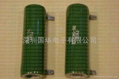 绿色被釉电阻