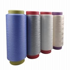 Polyester polyamide elastic yarn used for mask ear band