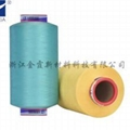 Low elastic colored DTY 1