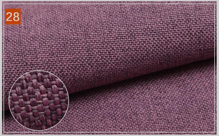 Matte polyester yarn for imitation linen 1