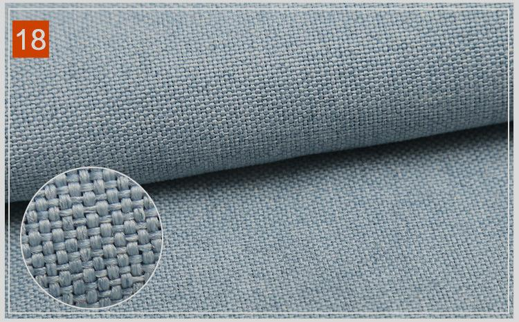 Matte polyester yarn for imitation linen 4