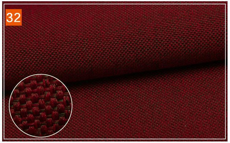 Matte polyester yarn for imitation linen 5