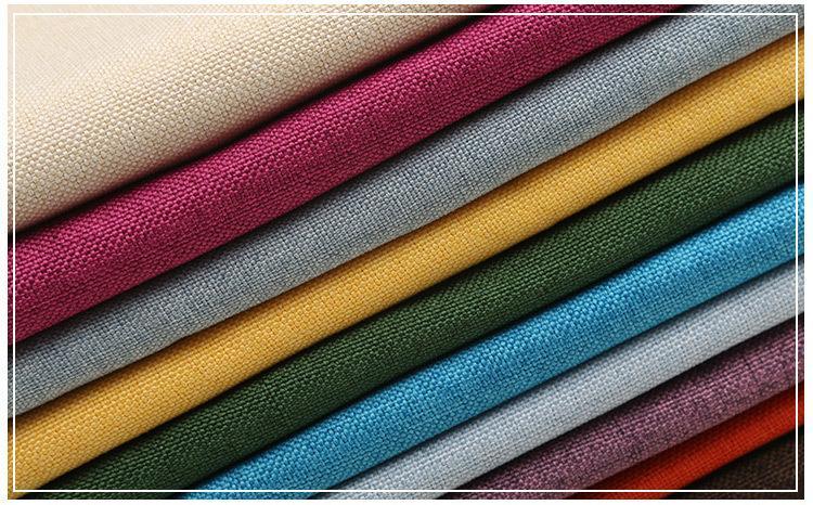 Matte polyester yarn for imitation linen 7