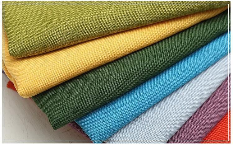 Matte polyester yarn for imitation linen 9