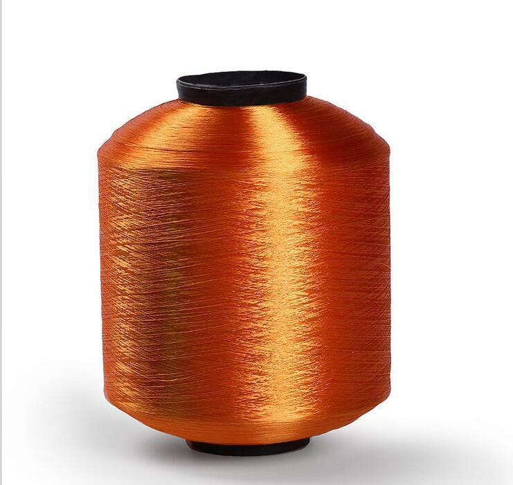 Colored polyester twisted yarn 6