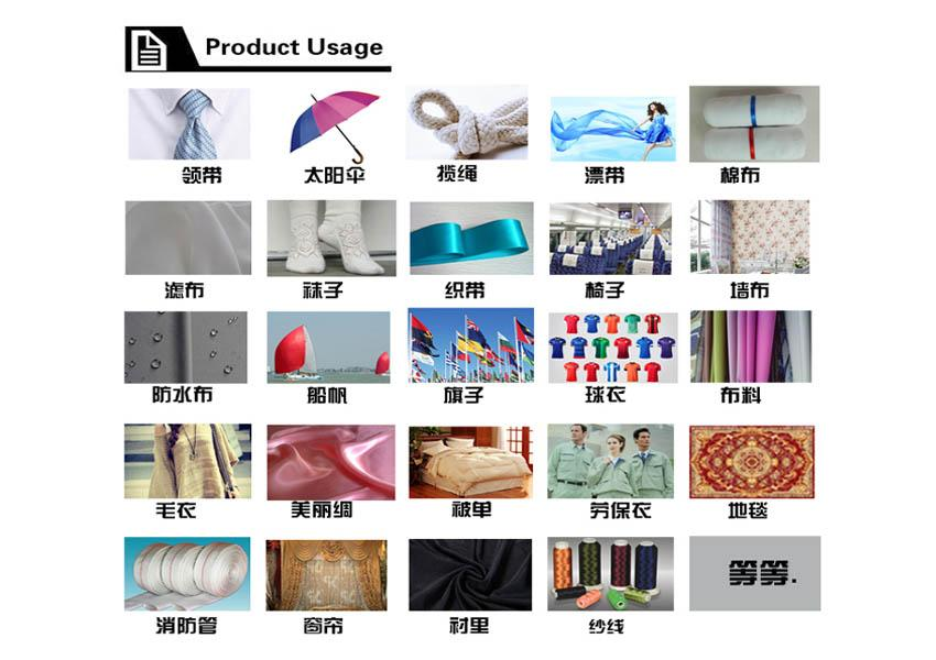 Tailor-made personalized polyester colored silk fiber 5