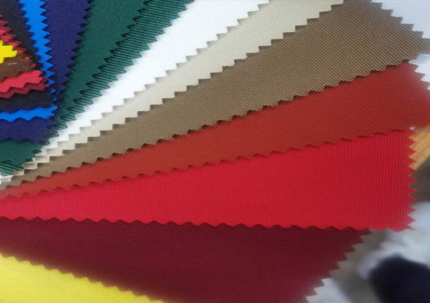 Polyester colored yarn for outdoor air change 1