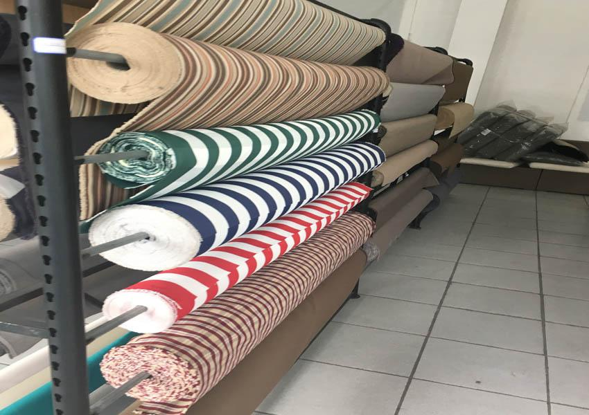 Color yarn for high-sunlight and anti-aging outdoor textiles 8