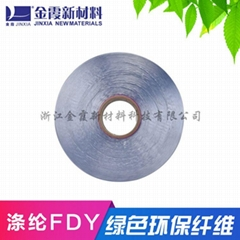 Environmentally Friendly Recycled Colored Polyester Filament_Recycled Polyester