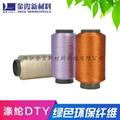 Trademark woven silk