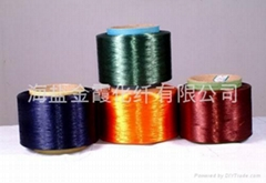 地毯专用涤纶色丝阻燃丝