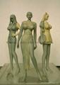 北京玻璃钢卡通人物雕塑