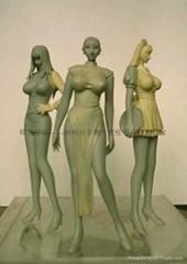 北京玻璃鋼卡通人物雕塑