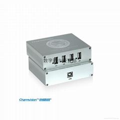 创威视EU254P 150米单网线传输USB2.0 4口US