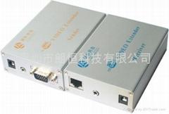 600米手動調節帶防雷功能VGA視頻延長器