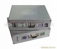 300米带防雷模块KVM鼠标键盘视频延长器
