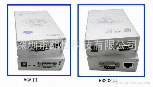 VGA-232HD视频RS232延长器 1