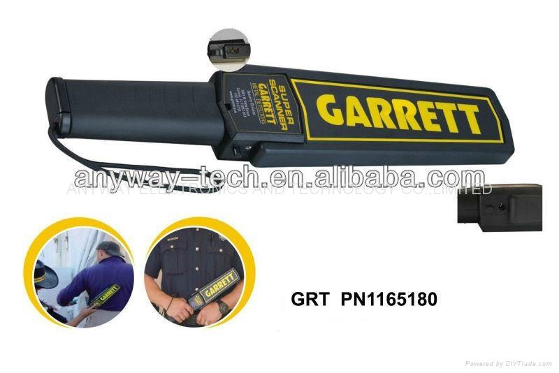 handheld metal detector Garrett super scanner PN 1165180