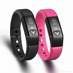 Bluetooth V4.0 smart wristband bracelet with Sports & Sleep Tracking for Android