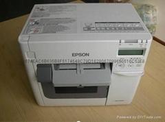 爱普生彩色标签打印机 TM-C3520
