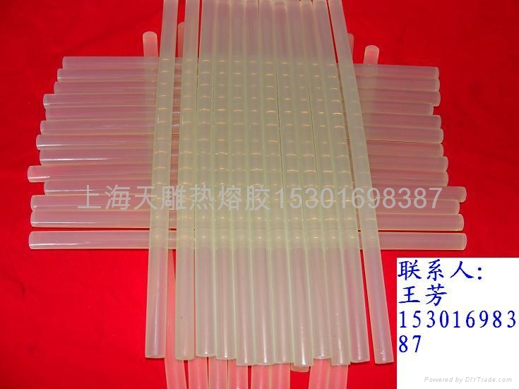 無色透明熱熔膠棒膠粒 1